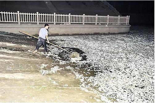 靖江水污染原因_武汉水污染事件 _网络排行榜
