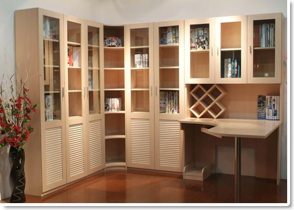 书柜橱窗设计效果图